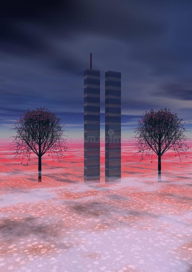 World Trade Center illustration libre de droits