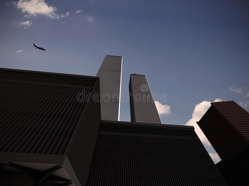 World Trade Center illustration de vecteur