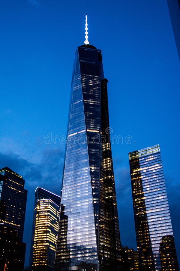 2 World Trade Center stock afbeeldingen