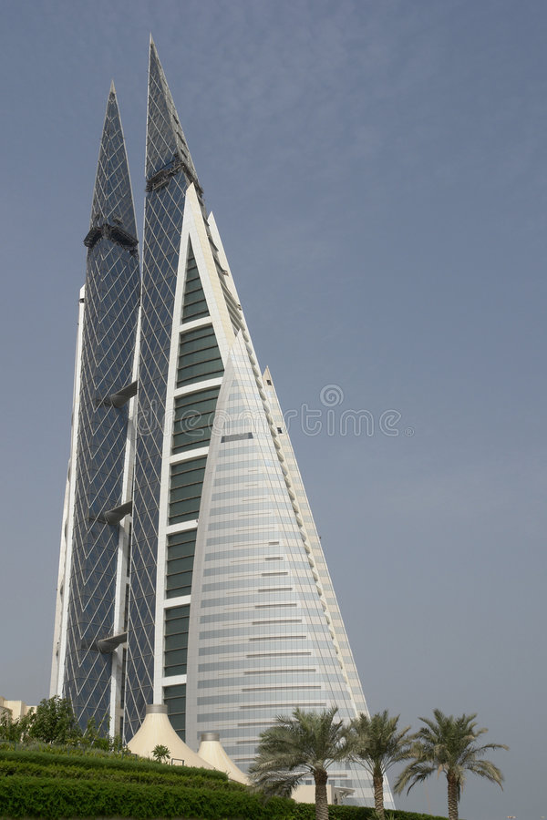 World trade center - Bahrain royalty free stock images