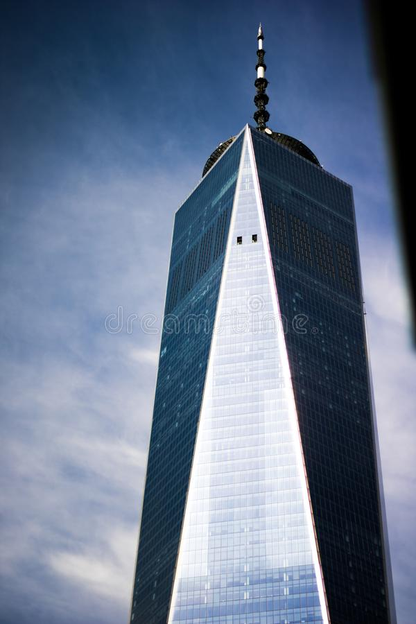 One World Trade Center - New York - SEP 2018 stock photo