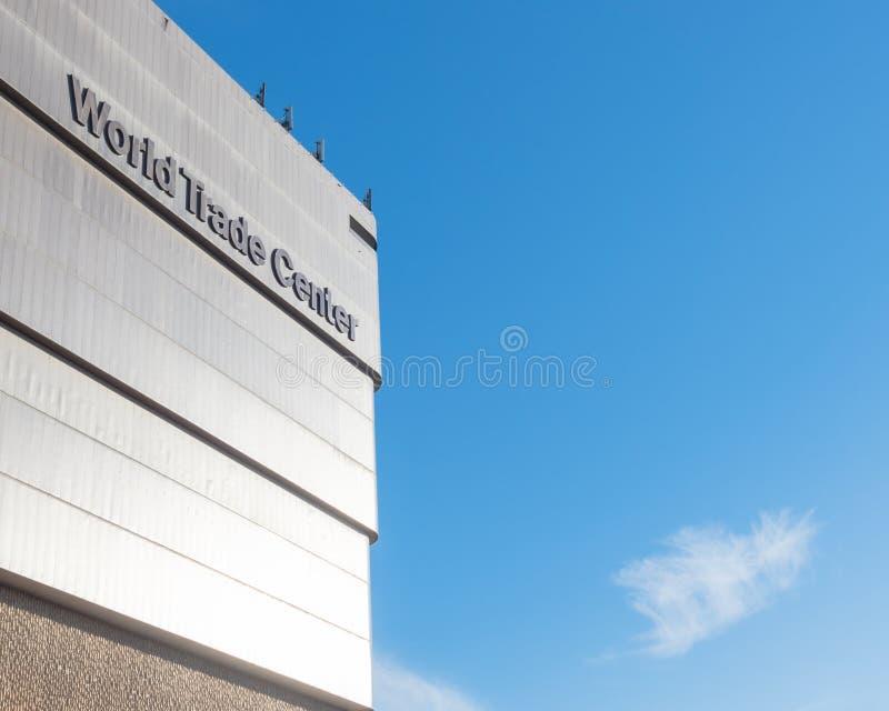 the world trade center dallas or market center editorial photography