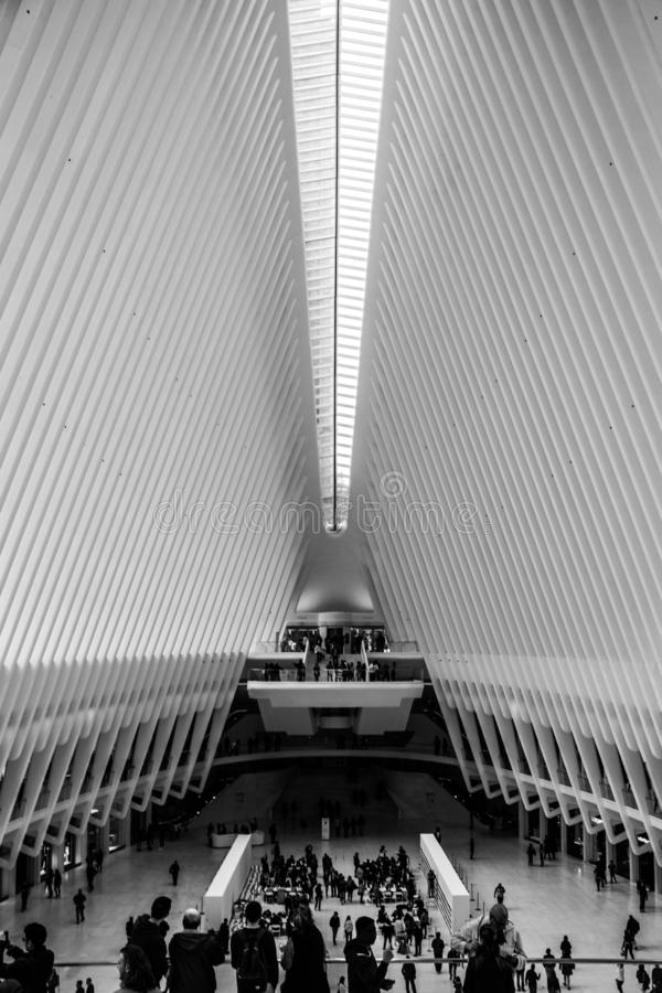 World Trade Center del diseño arquitectónico fotos de archivo