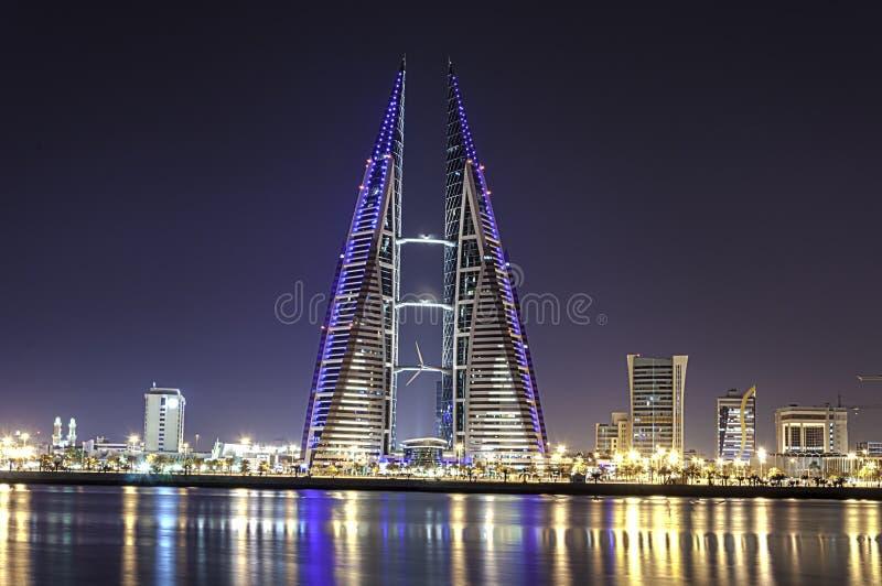 World Trade Center du Bahrain photos stock