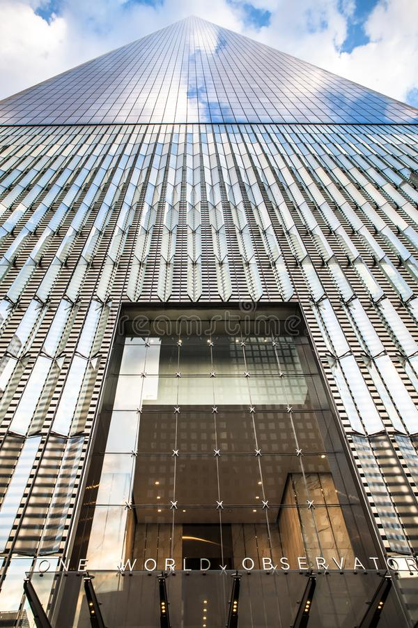 World Trade Center Freedom Tower royalty free stock image