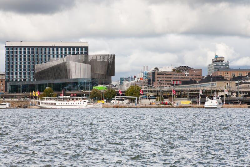 World Trade Center, gare centrale à Stockholm photos libres de droits