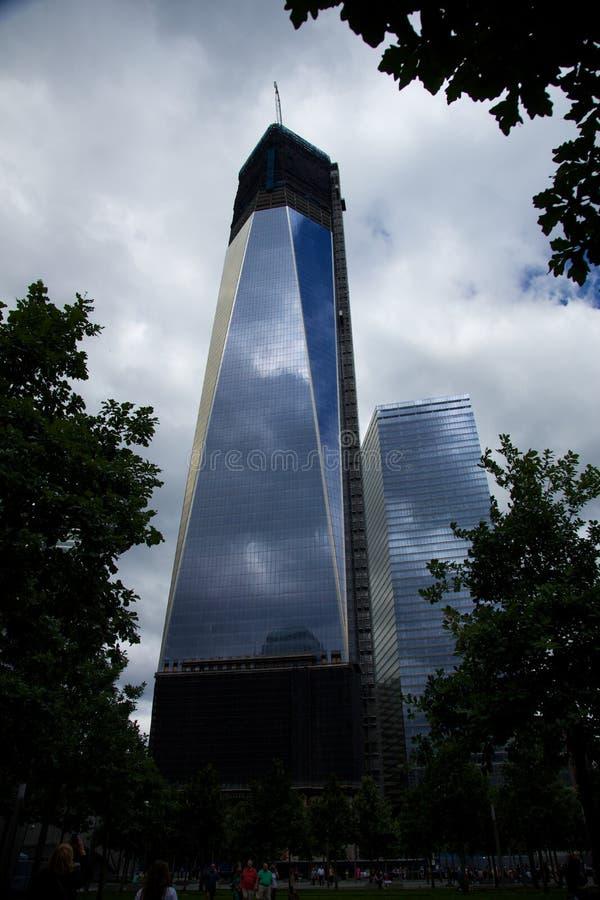 World Trade Center Manhattan fotografía de archivo libre de regalías