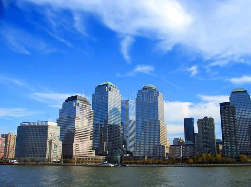 World Trade Center, Manhattan, New York photographie stock