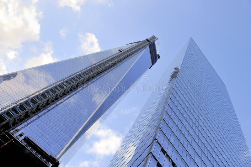 World Trade Center, Manhattan, New York, NY royalty-vrije stock afbeelding