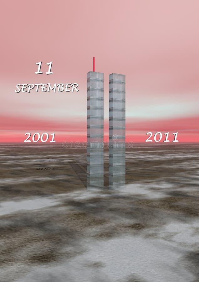 World Trade Center, New York illustration libre de droits