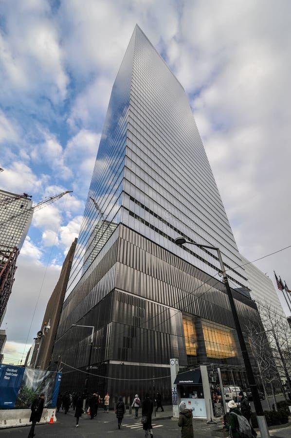 7 World Trade Center, New York arkivbilder