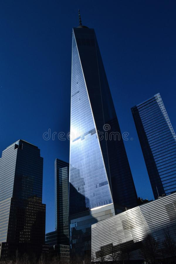 World Trade Center New York stock afbeelding