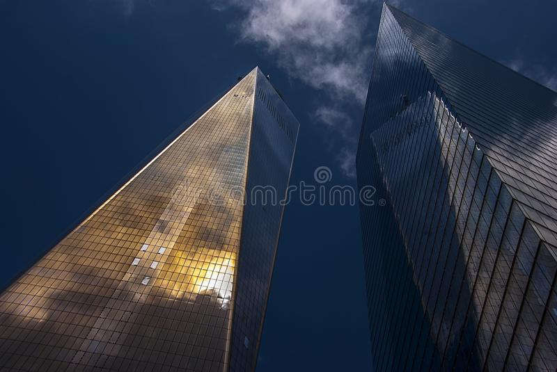 World Trade Center building in New york royalty free stock images