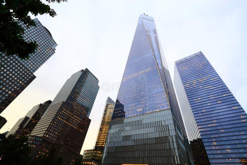 World Trade Center New York eins lizenzfreie stockfotografie