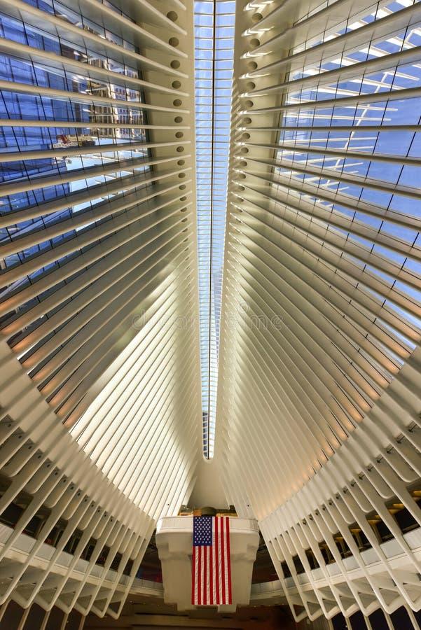 World Trade Center Oculus - New York City imagens de stock royalty free
