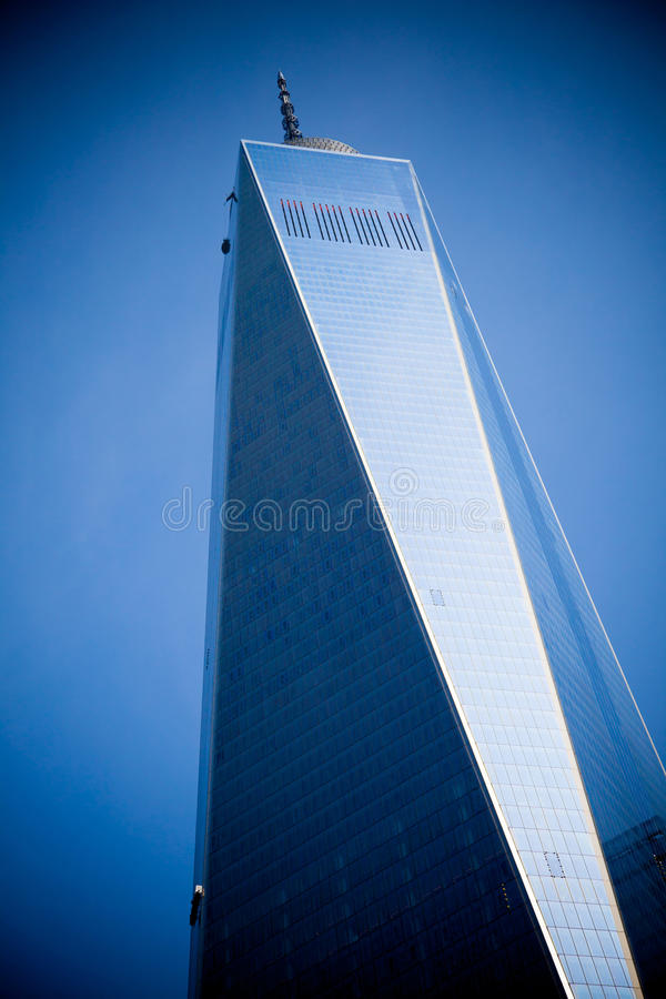 World Trade Center. One in Manhattan New York royalty free stock photography