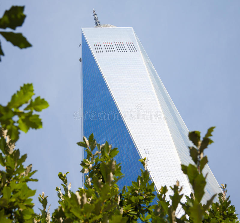 World Trade Center. One in New York City royalty free stock photos