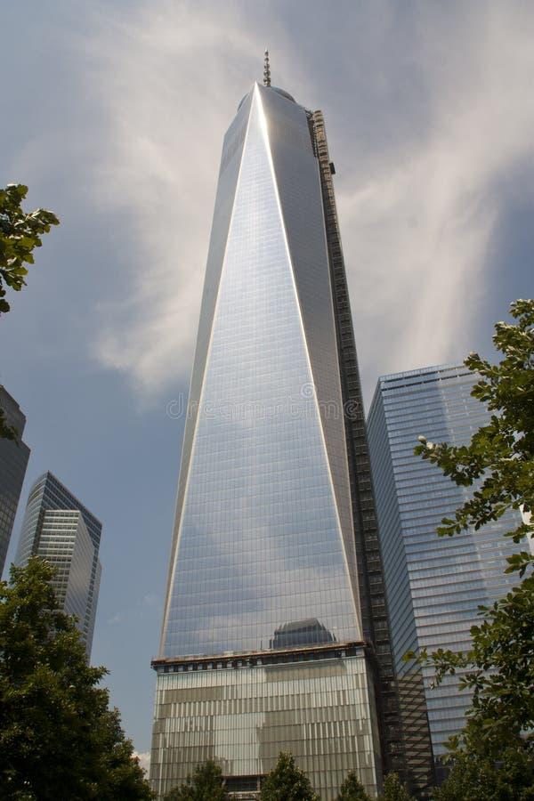 World Trade Center Tower 1 New York City royalty free stock photos