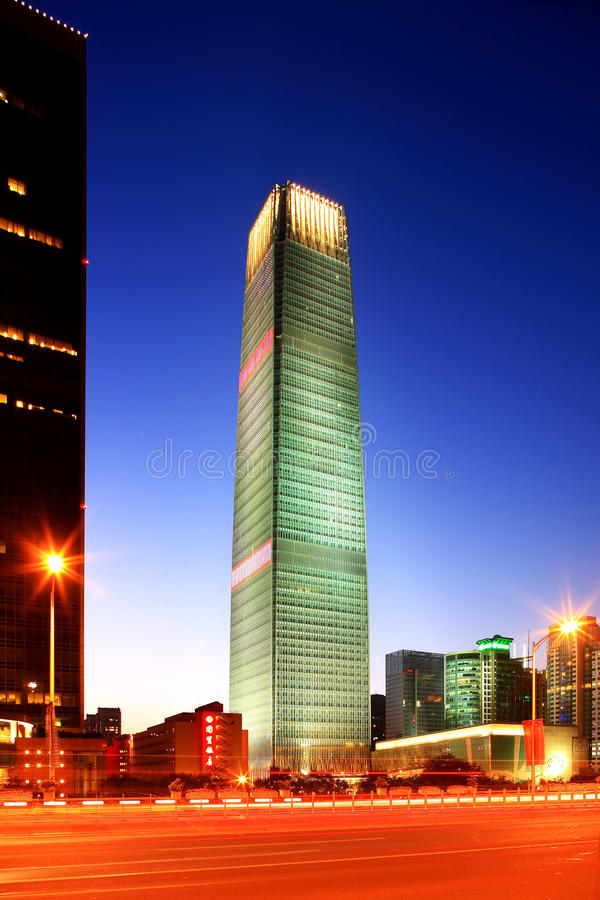 World Trade Center trois de Pékin photos libres de droits