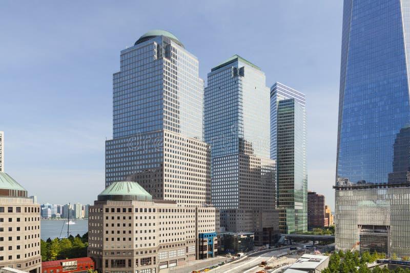 World Trade Centerområde, New York royaltyfria bilder