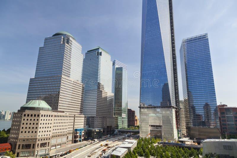 World Trade Centerområde, New York arkivfoton