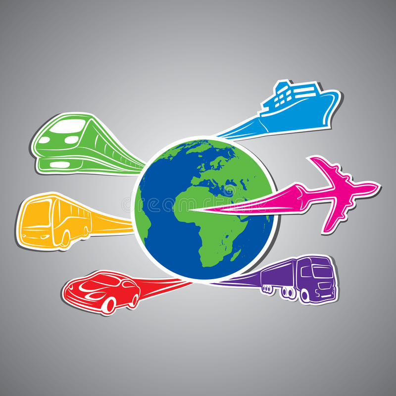 Download World Transport Concept Stock Stock Vector - Image: 29081429