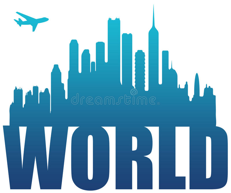 Download World travel stock illustration. Image of geography, flying - 20338021