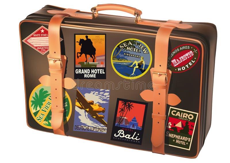 Download World traveler suitcase stock photo. Image of hotel, satchel - 12860976