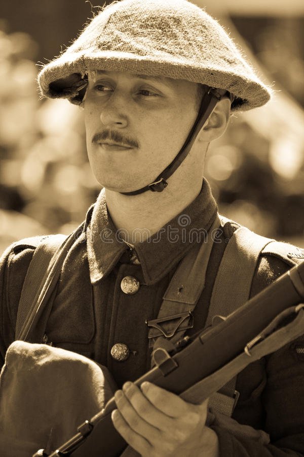 Download World War 1 soldier editorial photo. Image of person - 26131016