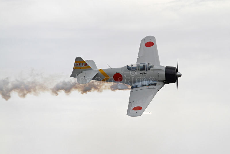 World War II Aircraft Reenact Pearl Harbor Attack royalty free stock image