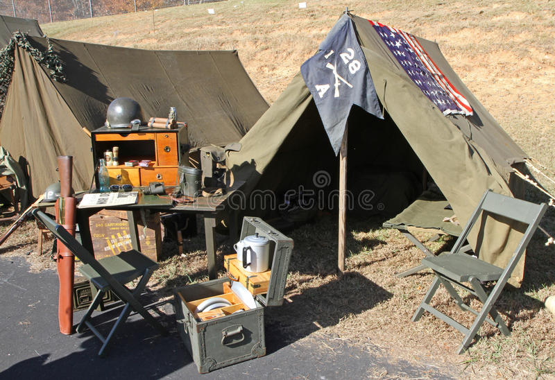 Download World War II Army Camp Display Editorial Image - Image: 35558520