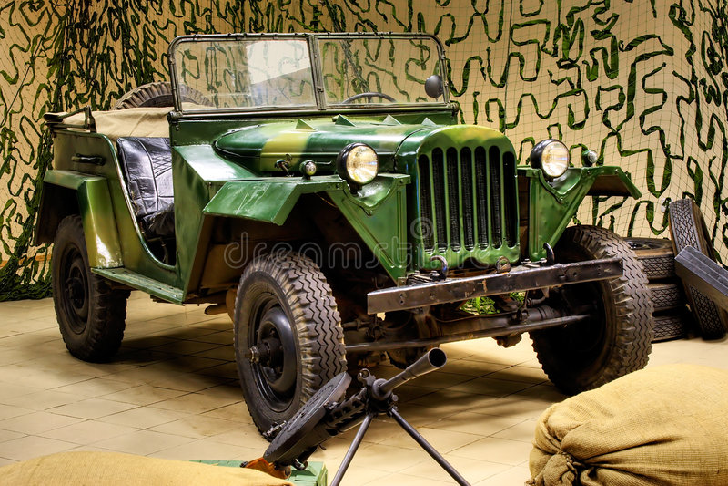 Download World War II Army Truck stock image. Image of headlight - 2253125