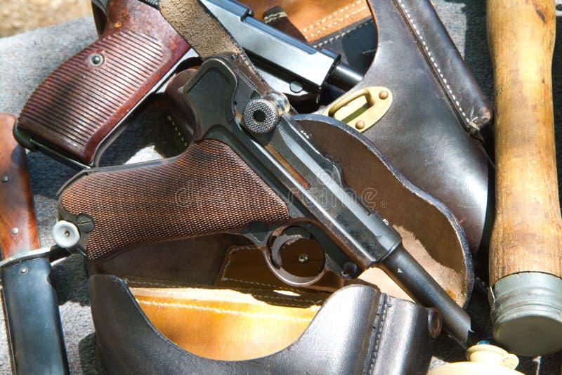 German pistol Luger stock image  Image of security, handgun