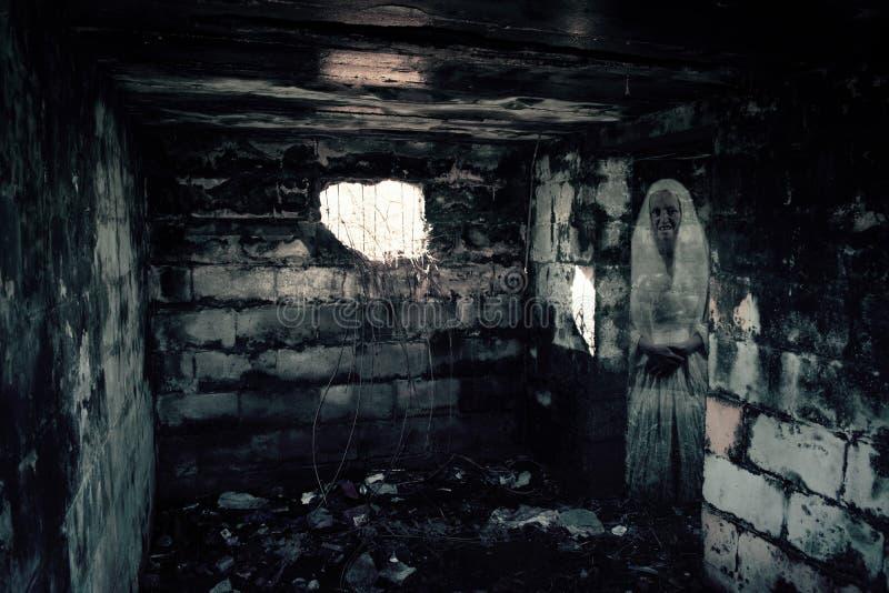World War II Bunker Ghost. Photo Of World War II Bunker Ghost stock photos