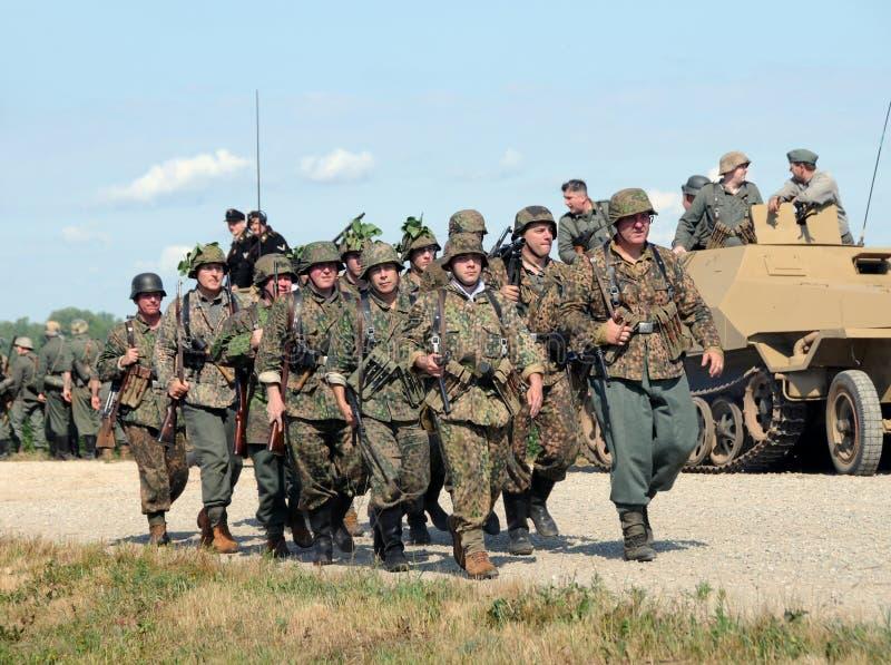 Download World War II era battle editorial photo. Image of enthusiasts - 18193686