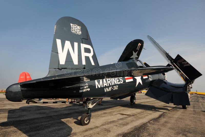 World War II era Navy fighter