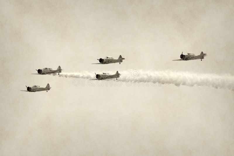 World War II fighters stock photos