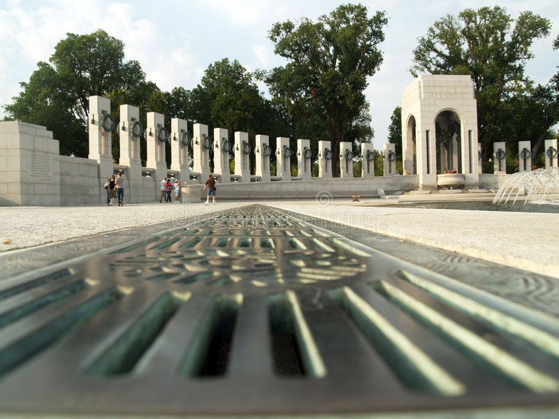 Download World War II Memorial Stock Image - Image: 7912851