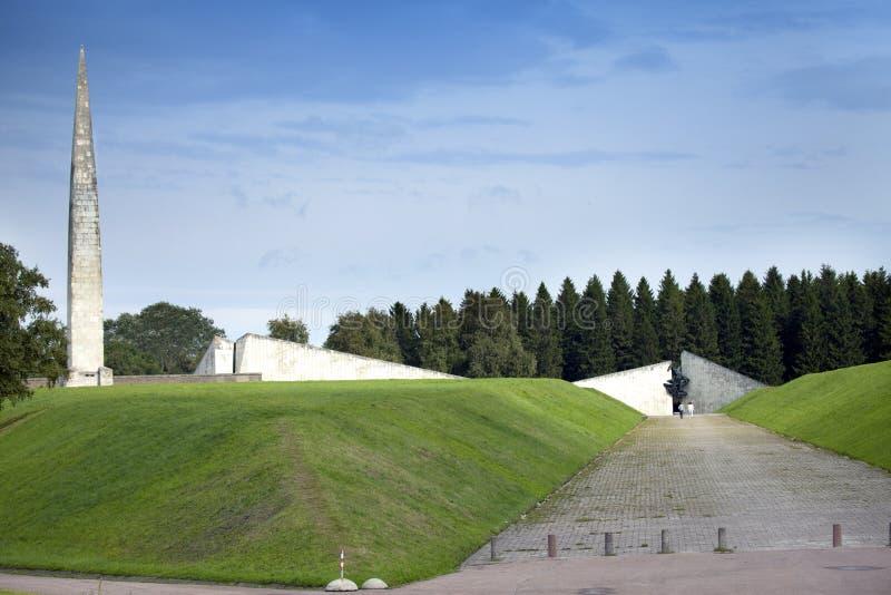 World War II Memorial on Mary Hill Maarjamae in the district of Pirita, Tallinn , the capital of Estonia royalty free stock photography