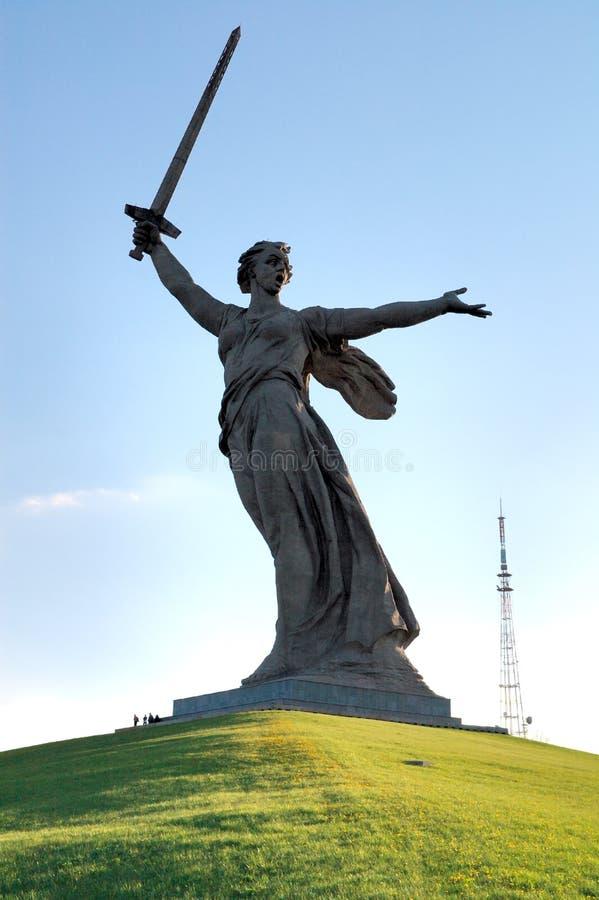 Download World War II Memorial Obelisk On Mamayev Kurgan Royalty Free Stock Photography - Image: 4219587