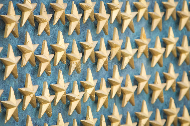 World War II Memorial Stars stock photos