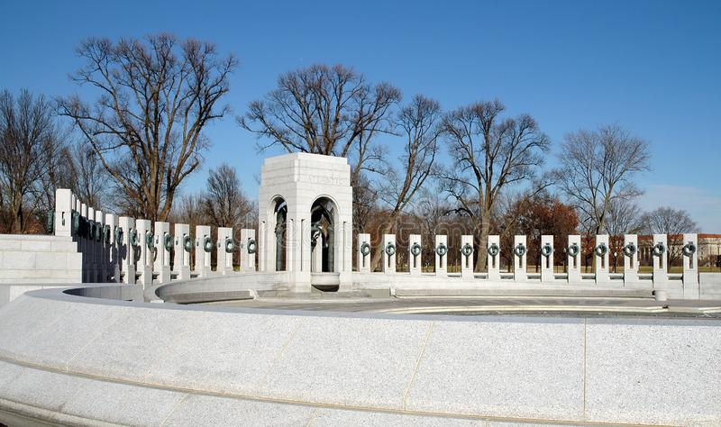 World War Ii Memorial - Washington, Dc Free Stock Photography