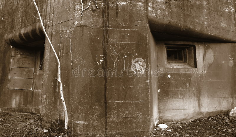 Download World War II Military Bunker 2 Stock Photo - Image: 1850116