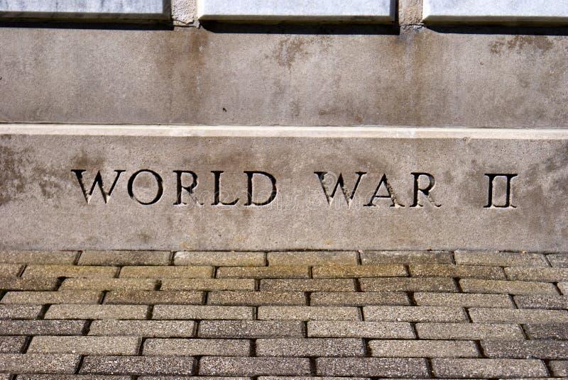 World War II Monument Stock Photography