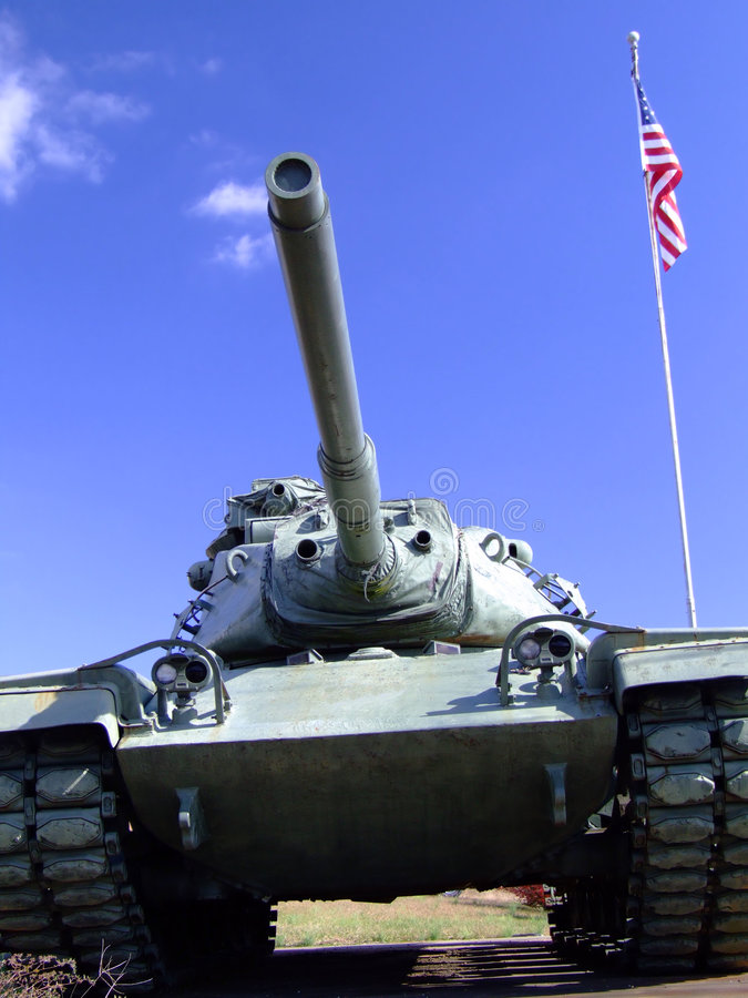 Download World War II Tank and Flag stock image. Image of canon - 1418975