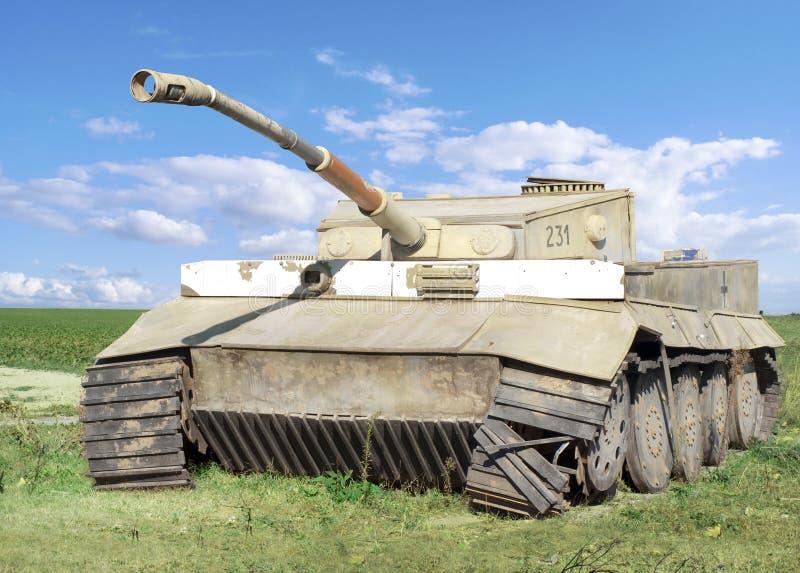 Download World War II Wrecked German Tank Stock Image - Image: 11539451