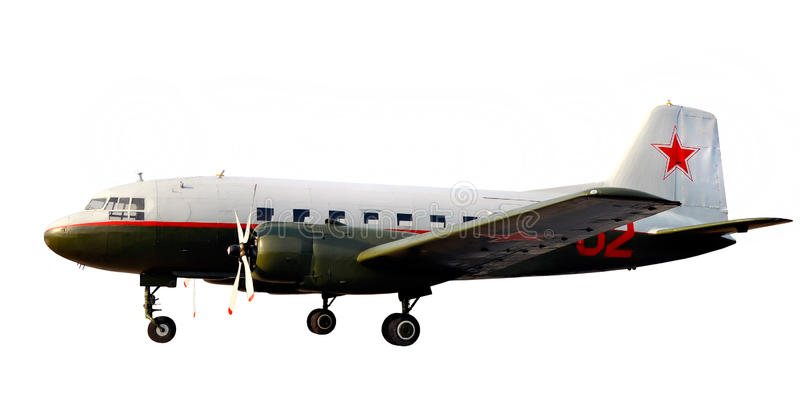 Download World War Lend-lease Airplane Dc-3 Li-2 Stock Image - Image: 19353381