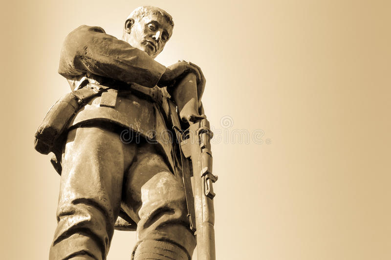 World War One and Two Memorial royalty free stock photography