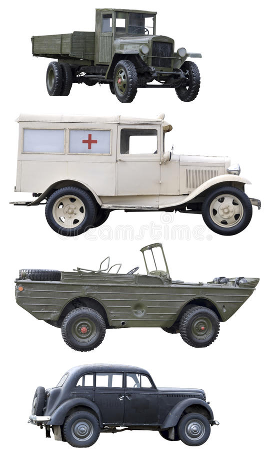 Old soviet army vehicles