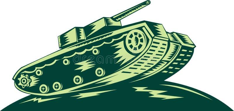 Download World war two Battle tank stock illustration. Illustration of background - 11254871